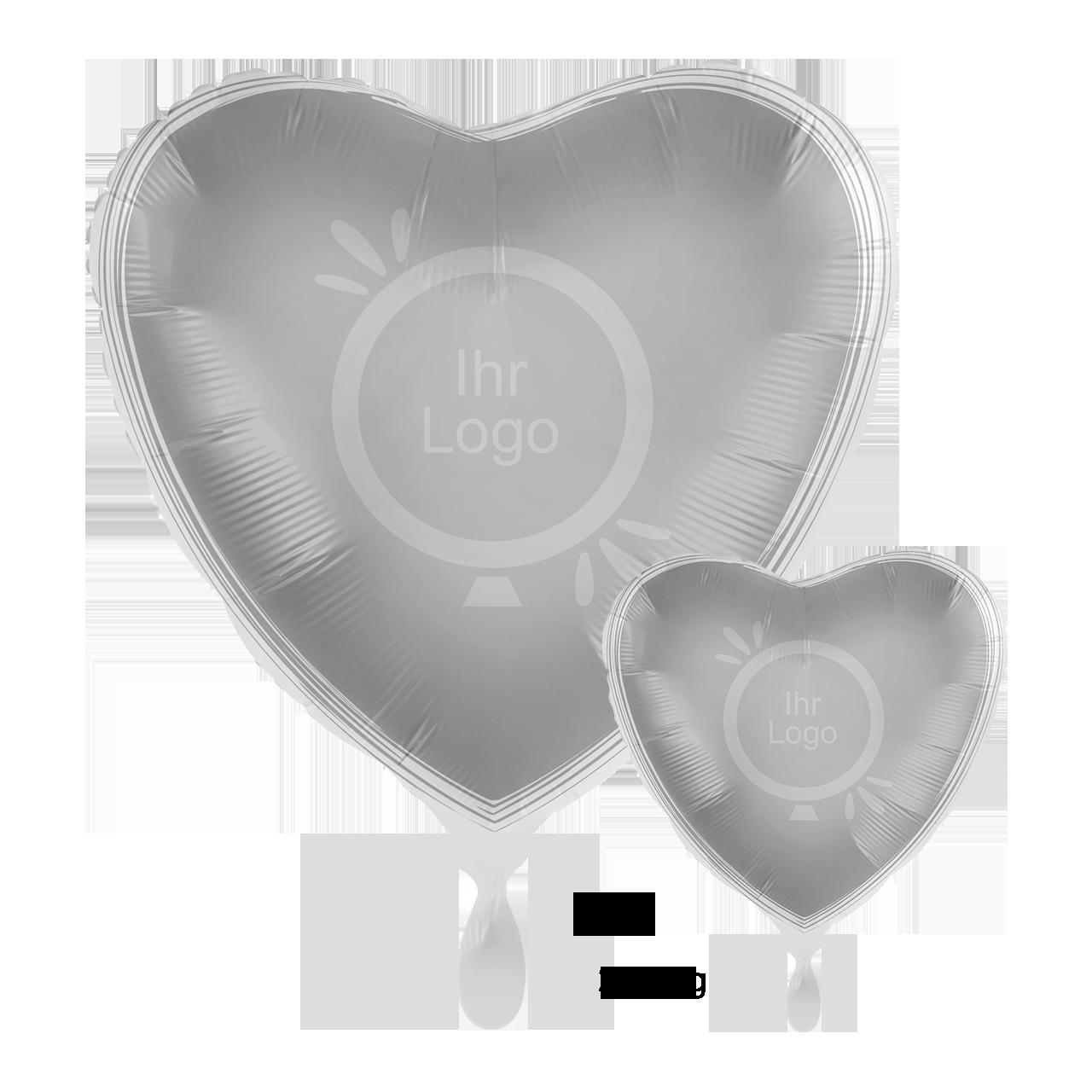 Werbeballon / Fotoballon  2-Seitig Satin