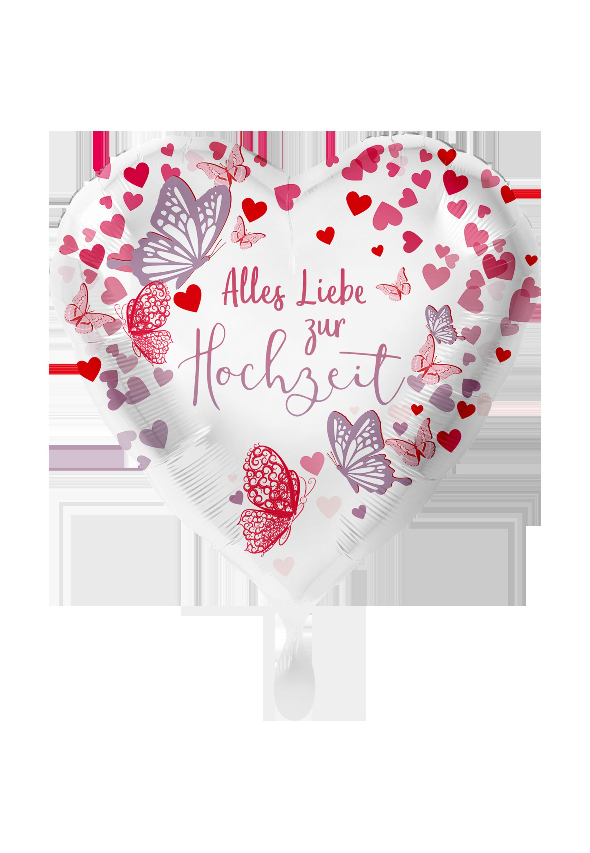 Hochzeit Alles Liebe - Folienballon