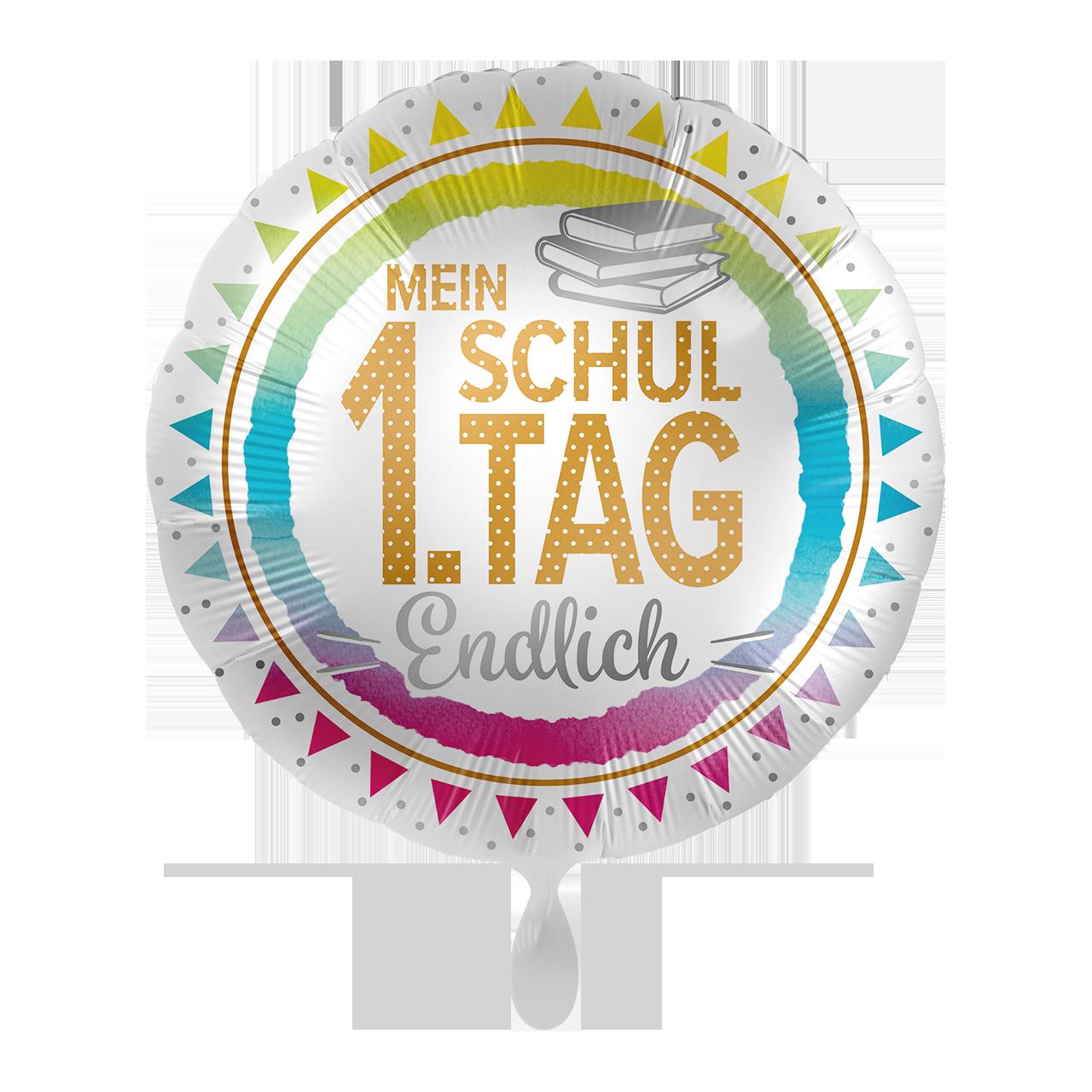 1. Schultag  - Folienballon