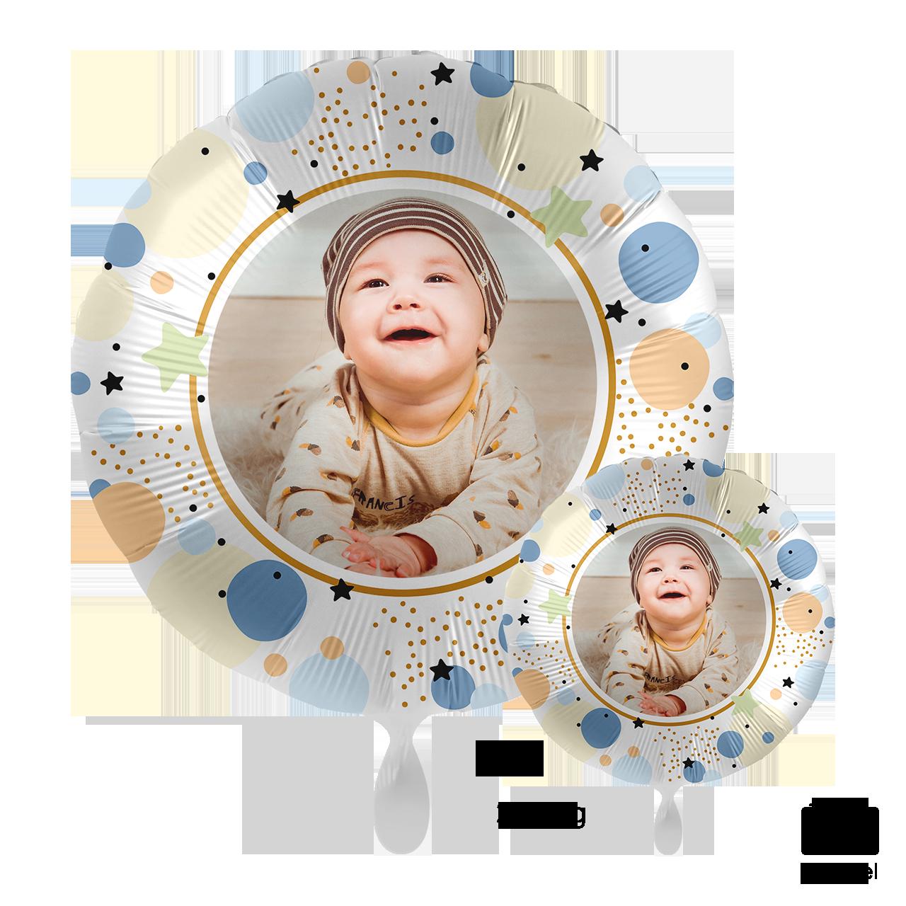 Fotoballon - Pastel Stars