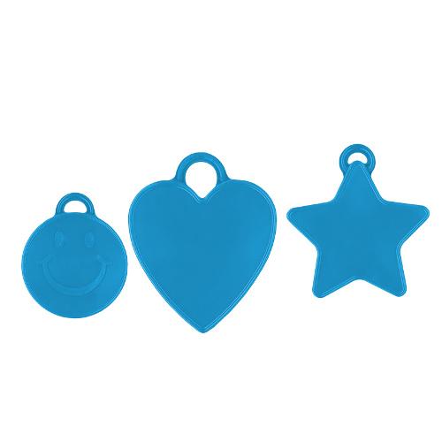Ballongewicht blau 16gr. verschiedene Formen